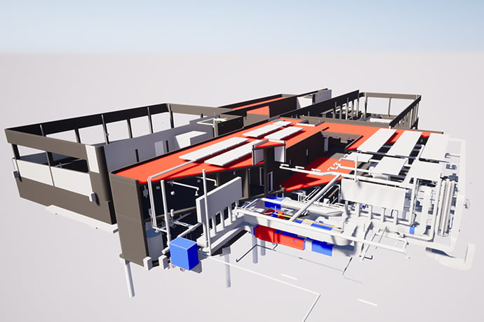 conception bim plan 3d